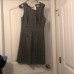 Never worn jcrew gray suit dress